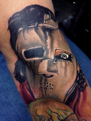 Quiet Riot Skull - Tattoo by Travis Broyles - Unknown Tattoo Co. - Everett Washington Tattoo Shop